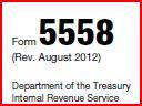 Form 5558 - Delaware 401k Auditor