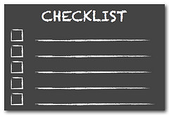 Plan Audit Checklist
